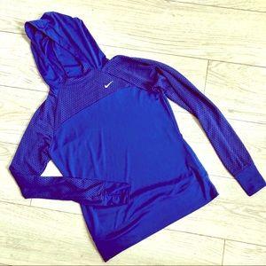 Nike Cobalt Blue Dri Fit Pullover Hoodie BNWOT!